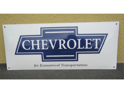 Chevrolet for transportation Grösse 60 X 25cm gekrümmt