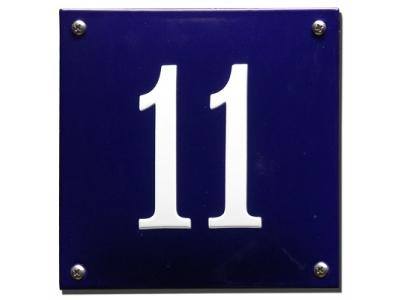 Hausnummern Grösse 16X16cm Rechteckig Gekrümmt