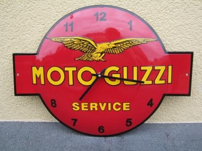MOTO GUZZI MOTOGUZZI Email Uhr MOTO Guzzi Grösse 40x53 cm ..