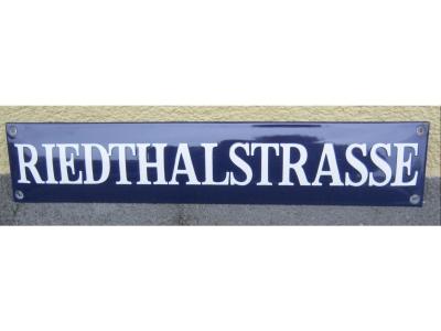 Strassenschilder Grösse 80X15cm  Recht..