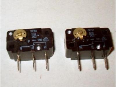 Mikroschalter  Cherry F51 Ohne Hebel mit Befestigung für S..