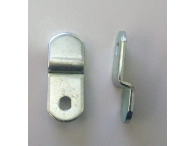 Schlösser Verschlussriegel gebogen  Länge 37mm für Schlöss..