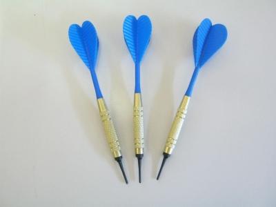 Dart-Pfeile  blau  Gute Standart Qualität BULLSEYE