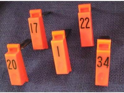 Einzeltaste orange  von 1-40 Occ.  aber gut Tempo1 1468 and 1475