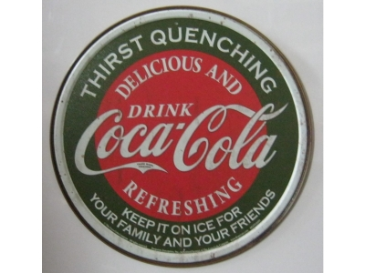 Coke - Thirst Quenching   Blechschild 28X28cm