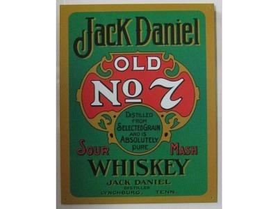 Jack Daniel's Green   Blechschild 32X41cm