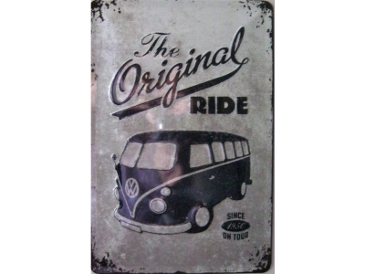 VW The original ride  Blechschild 30X20cm