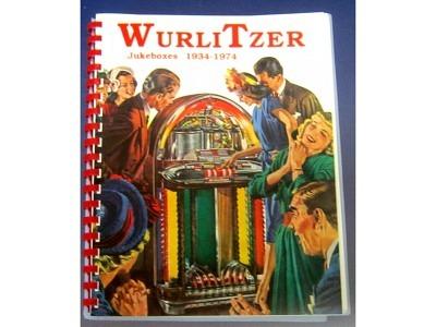Wurlitzer History Book -Schwarz-Weiss