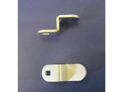 Schlösser Verschlussriegel Gebogen Länge 38mm für Schlösser der 1000 Serie