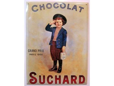 Schokolade Suchard Blechschild 30X41cm