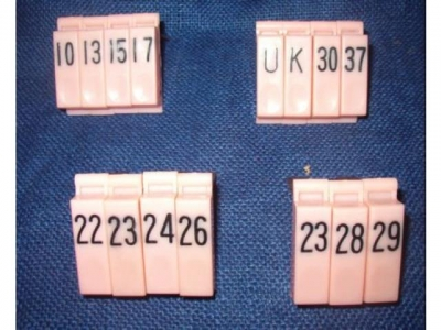 Einzeltaste Pink Pushbutton Rockola Reggis,Tempo 2 A-V,1-40 Tasten Occ. aber gut Neuwertig