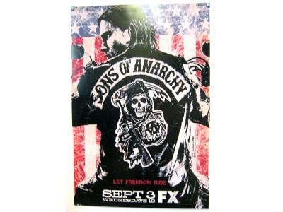 POSTER Sons of Anarchy2  Größe 69 X 102 cm