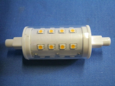 LED R7s 100W DxL 25 x 78mm 5W dimmbar warmweiss