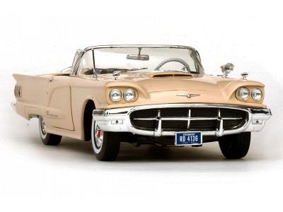 Ford Thunderbird Cabriolet 1:18