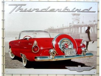 Ford Thunderbird 41 x 31 cm USA Import