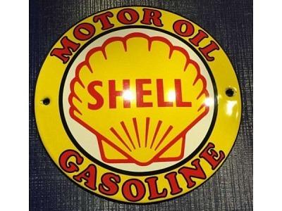SHELL MOTOR OIL GASOLINE