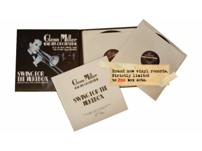 "Glenn Miller - Brand New 78rpm Vinyl Records 10"" Inch"