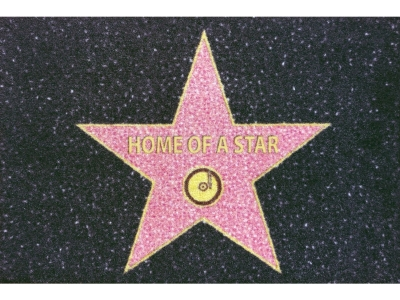 Mat 40 x 60 cm - Home of a Star