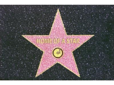 Mat 40 x 60 cm - Home of a Star