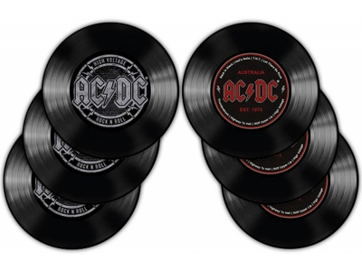 Untersetzer - AC/DC - 6er Set