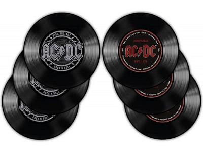 Coasters - AC/DC - Set of 6
