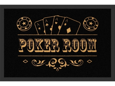 Doormat 40 x 60 cm - Poker Room