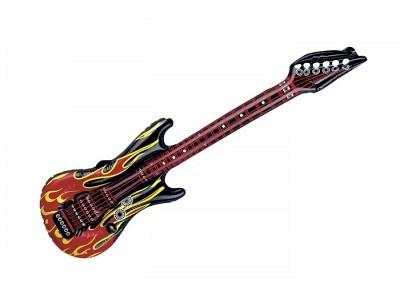 Pin - Air Guitar Flames