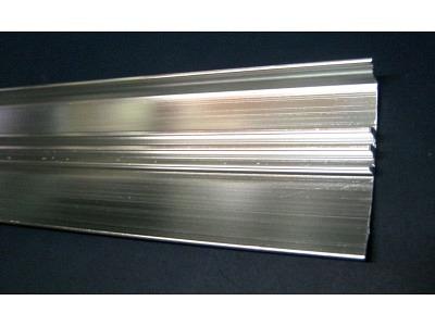 Wurlitzer 1900-2104 Pilaster Paar Abschlußprofile außen verchromt