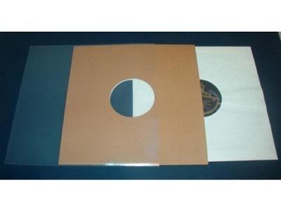 "Schellackplatten Hüllen aus Polyethylen Extra Stark 0,15mm  Masse 270mmX270 (10Stück)Polyethylen Sleeves for 12""LP Record Covers"