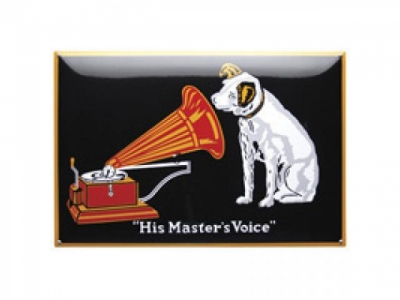 His Masters Voice Emailschild