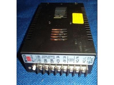 Netzteil  für Video Tische ARCADE Universal Neu 110V/220V Ausgang +5V/15A -5V/1A +12V/3A  TYP MWP-602A MW Mean Well C96716724
