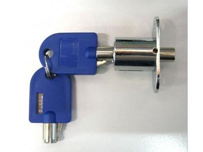 Schlösser Geräteschloss Mono Push Lock mit 2 Schlüssel Druckzylinder