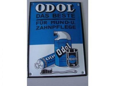 ODOL Das Beste für Mund- und Zahnpflege 10 x 14 cm