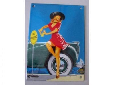 LADY NO PARKING 10 x 14 cm