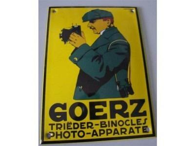 GOERZ PHOTO-APPARATE TRIEDER-BINOCLES 10 x 14 cm