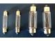Lampen Soffittenlampe Lampen  S8,5 Soffitten 48 Volt  5 Watt Grösse:D11X39 mm festoon lamp